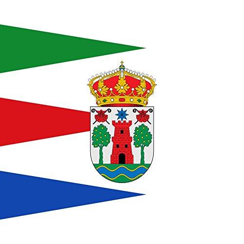 magFlags Bandera Large Municipio de Cerezo de Río Tirón Castilla y León   1.35m²   120x120cm