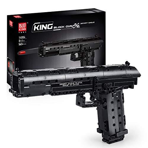 XIKI Technik Bausteine Schießwaffe Modell, 563+Teile Waffe-Gewehr Bauset Kompatibel mit Lego Technic