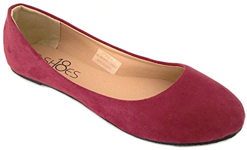 Top 10 best selling list for maroon colour flat shoes