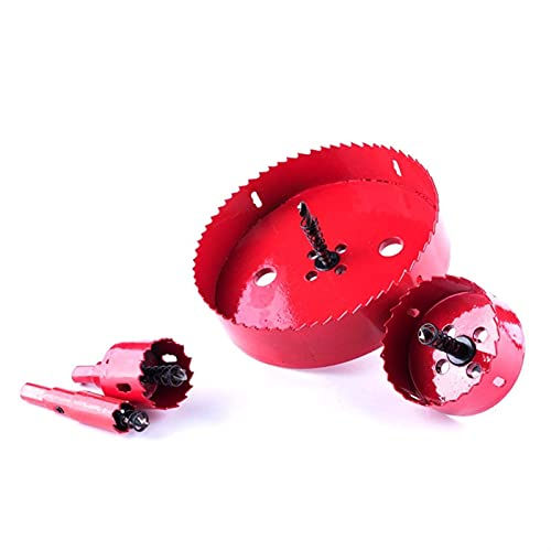 1 unids 16-55mm Bit Bit Hole Saw Twist Bits Bits Cutter Power Tool Herramientas de metal Kit de perforación Kit de carpintería Herramientas de agujero bimetal AperS (Size : 30mm)