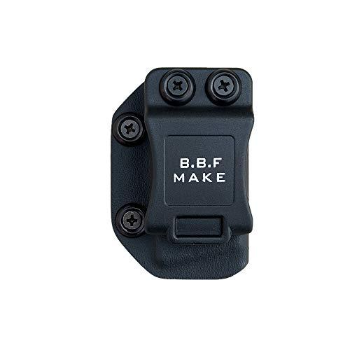 BBF Make IWB/OWB KYDEX Pistol Magazine Pouch pour: S&W M&P Shield 9/40 Mag Carrier Concealed Guns Magazine Holster