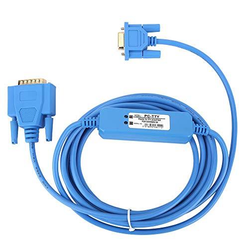 Cavo di programmazione in PVC ecologico isolato PC-TTY blu per PLC serie Siemens S5 6ES5734-1BD20