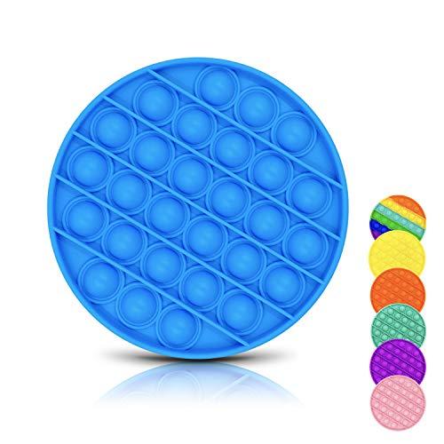 DONSFIELD Pop It Fidget Toy para Todos – Fun Push Pop Bubble Sensory Fidget Juguetes para niños con Autismo y Adultos – Diseñado para Necesidades Especiales y ansiedad – Azul