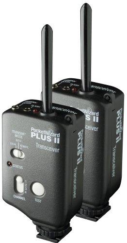 PocketWizard PWP-TR 801-125 PLUS II Transceiver - 2 Pack (Black)