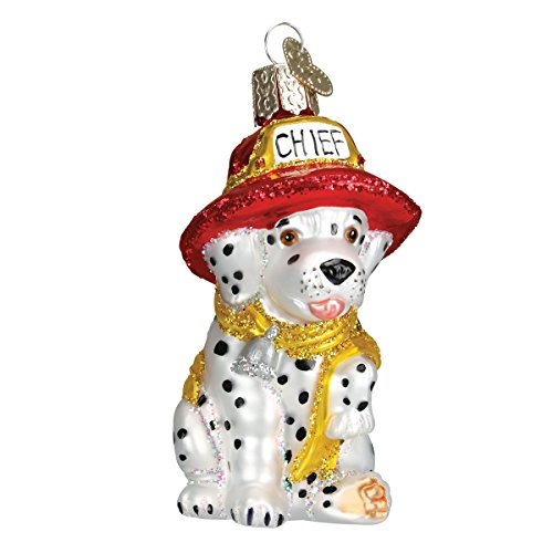 Old World Christmas Dog Collection Glass Blown Ornaments for Christmas Tree Dalmatian Pup