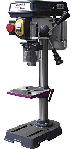 Optimum Tischbohrmaschine OPTIdrill B14 Basic (mit Bohrtisch neigbar, Bohrtiefenanschlag, Drehzahlbereich 520-2620 mm-1, Bohrmaschine) 3008014