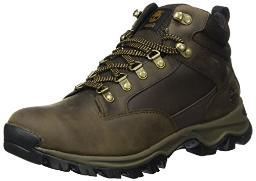 Timberland Herren Keele Ridge WP Leather Mid Chukka Boots, Braun (Medium Brown), 43 EU
