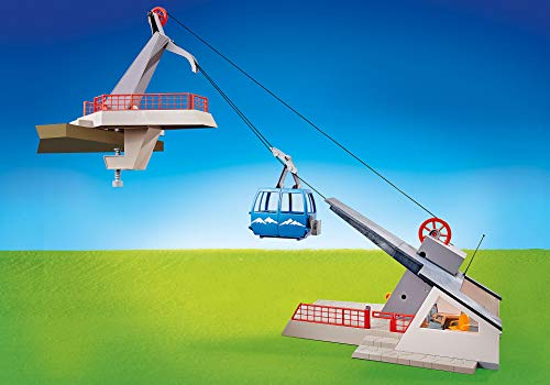 PLAYMOBIL 9830 Seilbahn mit Bergstation (Folienverpackung)