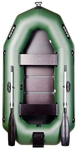 BARK Bateau Gonflable pour 2 Personne B-250CN 2.5 m 250 cm Bateau de pêche Bateau pneumatique avec...