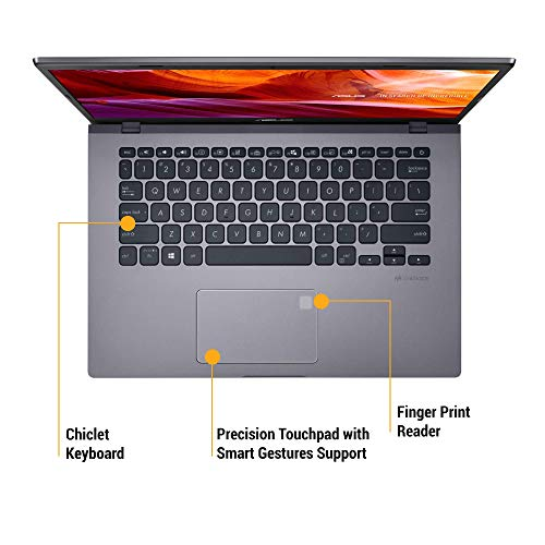 ASUS VivoBook 14 Intel Core i3-10110U 10th Gen 14-inch FHD Compact and Light Laptop (4GB RAM/1TB HDD/Windows 10/Integrated Graphics/Slate Grey/1.60 kg), X409FA-EK617T