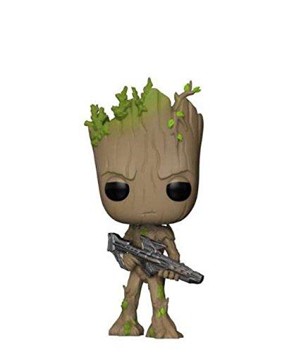 Funko Pop! Marvel - Figuras de vinilo de los Vengadores: Infinity War – Groot #293, 10 cm