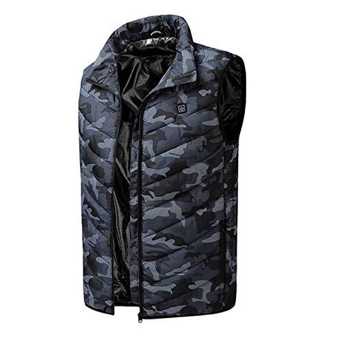 Veste chauffante pour homme et femme, gilet électrique réglable pour la randonnée, l'équitation, le ski, l'extérieur