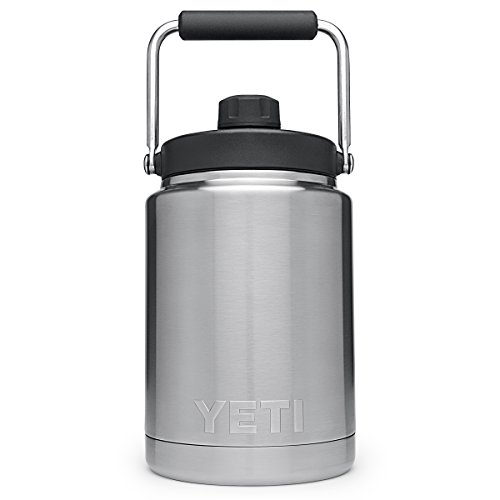 Product Image of the YETI Rambler Vacuum Insulated Stainless Steel Half Gallon Jug with MagCap, Stainless Steel
