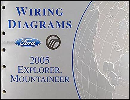 2005 ford explorer & mercury mountaineer wiring diagram manual paperback –  2005