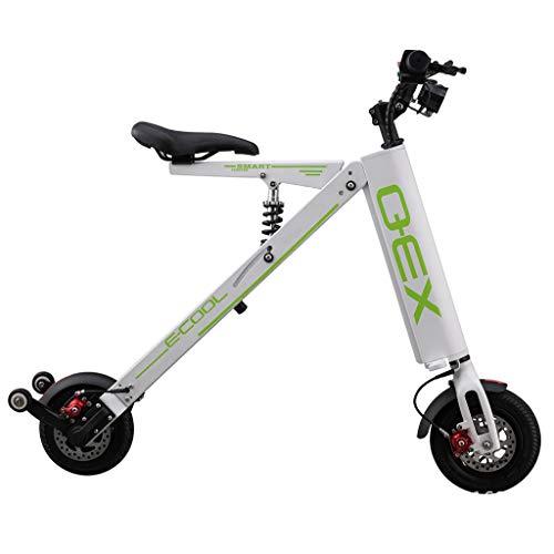 DYG Tragbare elektrisches Fahrrad, Urban Commuter Folding E-Bike, Höchstgeschwindigkeit 20 km/h, 250W / 36V zweirädrigen Keine Kette Lithium-Batterie Mini Scooter