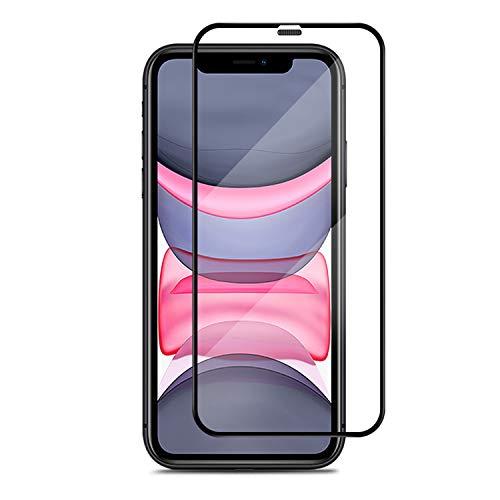 APS 2x Premium Panzerglas für Apple iPhone XR & 11 inkl. Montagerahmen - Keimfrei 24/7 - Staubschutz für Lautsprecher - 100% Passgenau & Extra Starkes 9 H gehärtetes HD Displayschutzglas