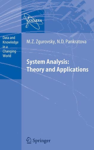 System Analysis: Theory and Applications (Data and Knowledge in a Changing World)