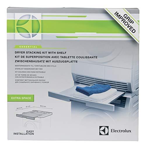 Electrolux 902979288/5 Zwischenbaurahmen Verbindungsrahmen Montagesatz für Wasch-Trockensäule mit Arbeitsplatte für Waschmaschine Trockner
