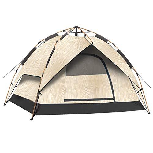 Utilisation multiple Sports de plein air Tente Camping Épaississement extérieure automatique Crème solaire anti-pluie Vitesse ouverte Tente pliante coupe-vent respirant Équipement d'extérieur