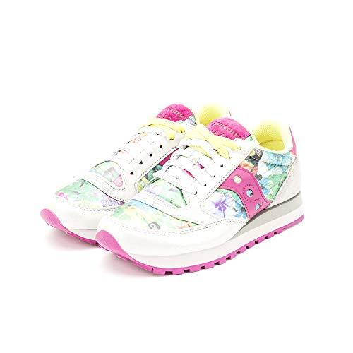 SAUCONY scarpe sneaker donna JAZZ ORIGINAL edizione limitata S60450-2 fiori n. 37.5 eu - 4.5 uk