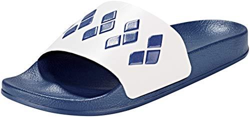 ARENA Team Stripe Slide Sandals Navy-White-Navy Schuhgröße EU 45 2018 Badeschuhe