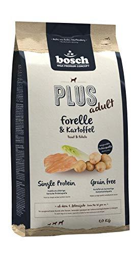 bosch HPC PLUS Forelle & Kartoffel | Hundefutter für ausgewachsene Hunde aller Rassen | Single Protein | Grain Free