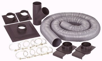 Dust Collector System Accessory Kit for contractor-type table saws and 6