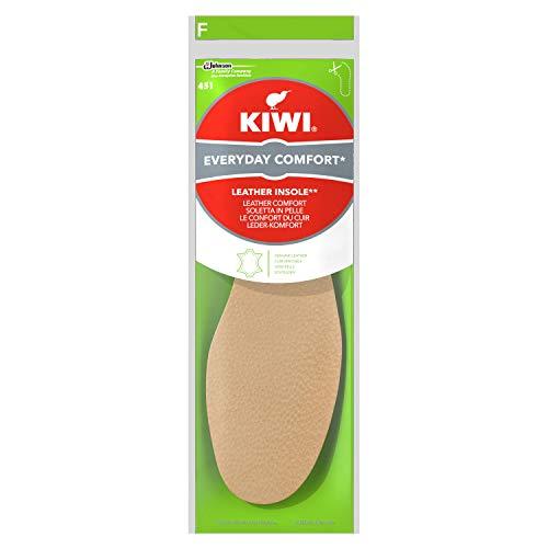 Kiwi Everyday Comfort Leder Einlegesohlen, Echtleder, 1 Paar