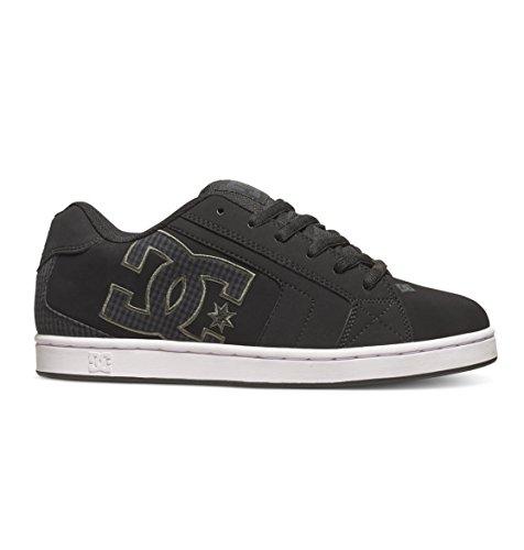 DC Shoes - scarpe basse da uomo modello Net, (nero), 41.5 EU