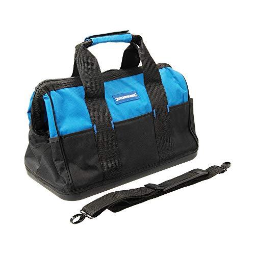 Silverline 268974 Werkzeugtasche mit verstärktem Boden und großer Öffnung 400 x 200 x 300 mm