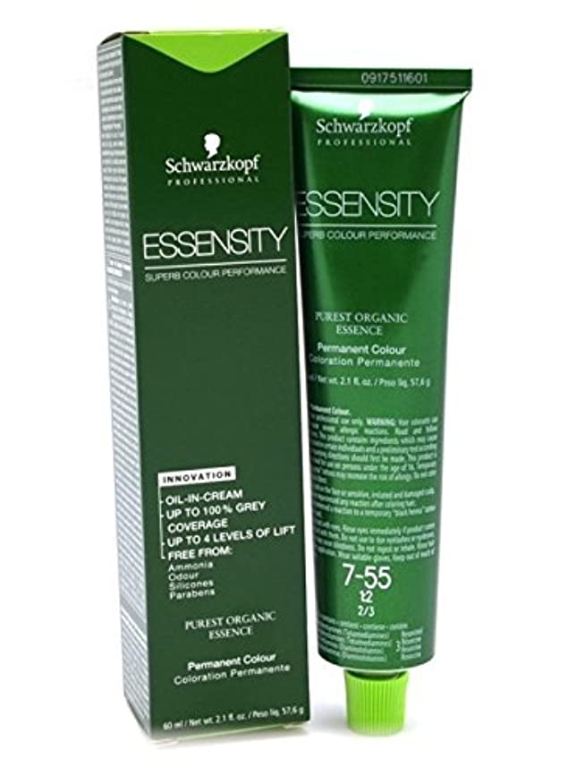 Schwarzkopf Essensity Permanent Hair Color - 8-45 Light Beige Gold Blonde by Schwarzkopf Professional [並行輸入品]