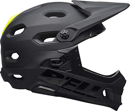 Bell Super DH MIPS Adult Mountain Bike Helmet - Matte/Gloss Black (2021), Medium (55-59 cm)