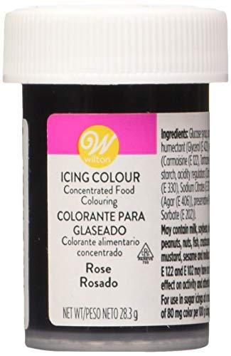 Wilton Colorante Alimenticio para Glaseado en Pasta, 28.3g, Color Rosado, 04-0-0043