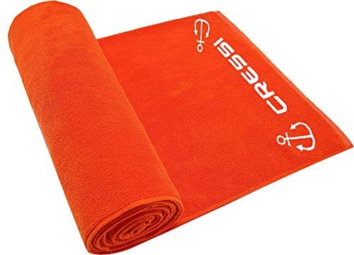 Cressi Cotton Frame Beach Towel - Volwassene strandhanddoek/hoogwaardige sporthanddoek 90x180cm