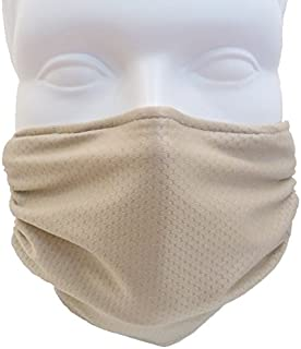 Breathe Healthy Honeycomb Beige Mask -2-Pack Deal! Protect Your Immune System from Allergens, Pollen, Dust, Mold Spores & Germ