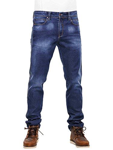 Reell Jeans Pants Men Nova Tapered Fit, Premium Snow Blue 28/30 Artikel-Nr.1100-1031