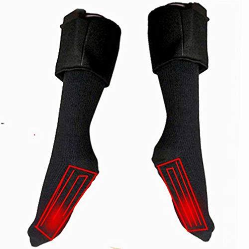 DFGHJK Heizsocken Elektrische Unisex USB-Ladeeinlagen Beheizte Schuheinlagen Warme Füße Heizung Fußpolster Winter Outdoor-Zubehör