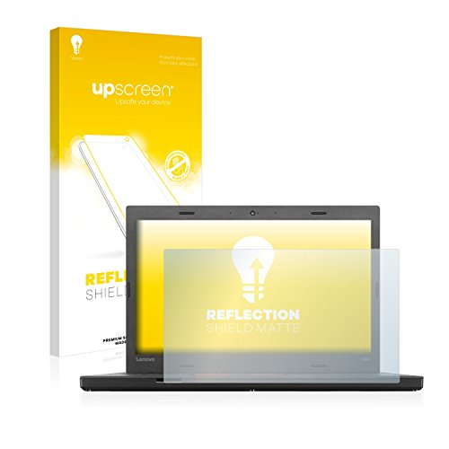 upscreen Entspiegelungs-Schutzfolie kompatibel mit Lenovo ThinkPad L460 – Anti-Reflex Bildschirmschutz-Folie Matt