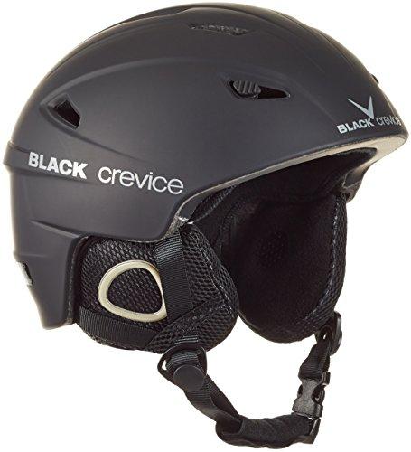 Black Crevice Unisex-Erwachsene Skihelm Kitzbühel, schwarz, M