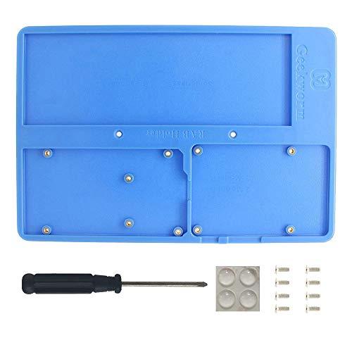 Raspberry Pi 4B/3B+ Plate, 5in1 RAB Halter Breadboard Base/ABS Gehäuse/Bildungsplattform für Arduino UNO Mega 2560 / Raspberry Pi 4 Model B/3B+/3B