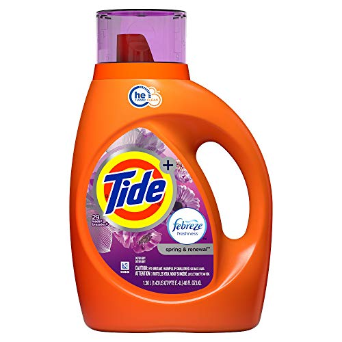 Tide HE Liquid Laundry Detergent, Spring & Renewal, 46 Ounce by Tide
