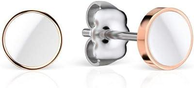 BERING Pendientes de botón Mujer acero inoxidable - 705-35-05