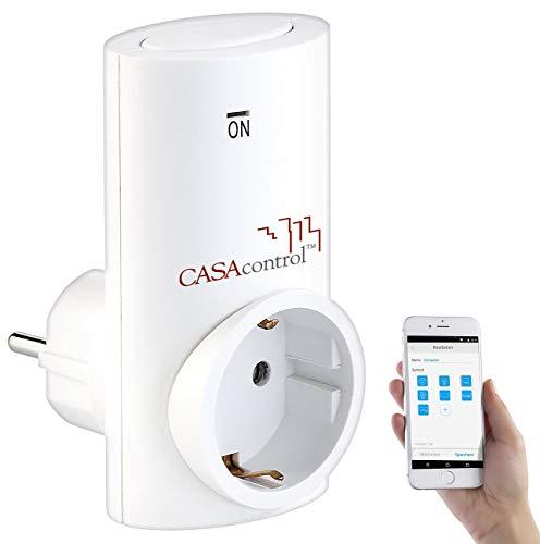 CASAcontrol Zubehör zu Funksteckdose SF-336.sh für Smart Home Basis-Station