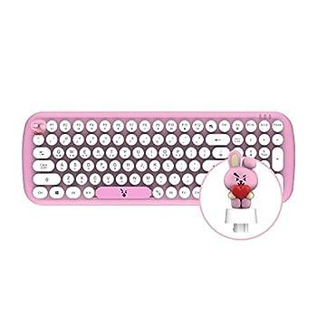 BT21 Baby Wireless Retro Keyboard by Royche  Cooky