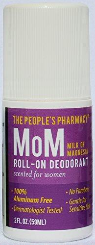 Women's MoM (Milk of Magnesia) Aluminum-Free Roll-on Deodorant