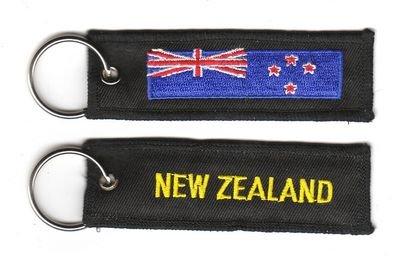 Schlüsselanhänger Neuseeland Anhänger Fahne Flagge NEU