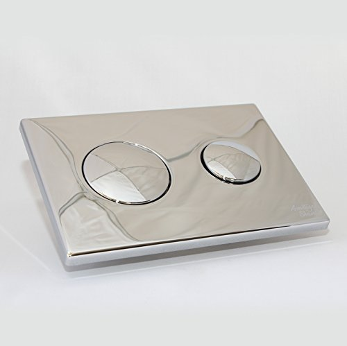 Armitage Shanks S4397AA Chrome Conceala 2Dual Flush Push Button Plate by Armitage Shanks