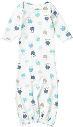Piccalilly Baby Jungs Mädchen Nachthemd Bio-Baumwolle Unisex Schaf Muster Nuegeboren