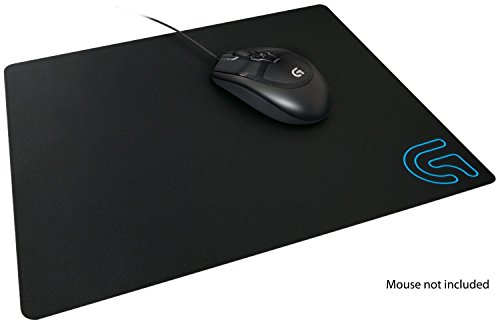 Logitech G240 Cloth Gaming Mouse Pad, 340 x 280 mm, Thickness 1mm, For PC/Mac Mouse - Black
