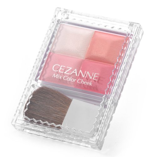 Cezanne Mix Color Cheek Blush Multi-color Made in Japan (01) by Canmake